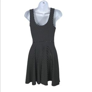 Free People Dresses - FREE PEOPLE XS BLACK AND WHITE SKATER DRESS